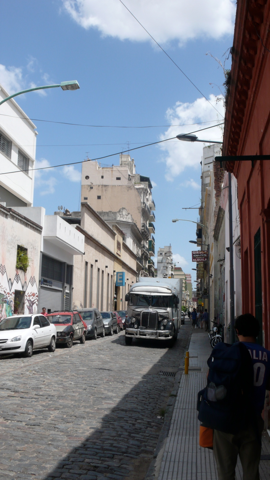A walk around San Telmo, memories of mi barrio