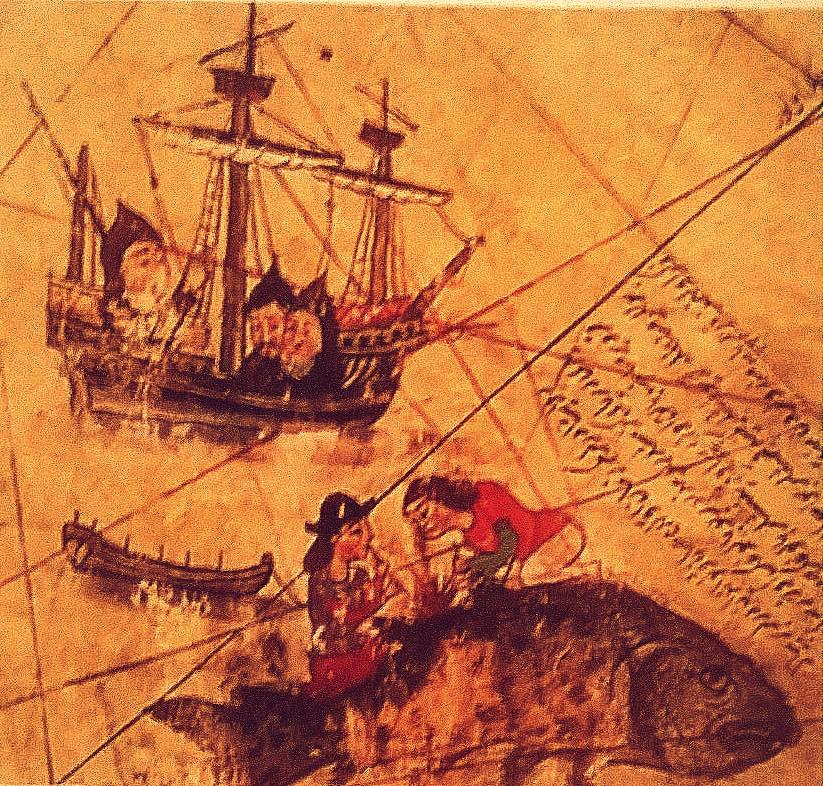 St Brendanm, Ottaman 1513 Piri Reis map,