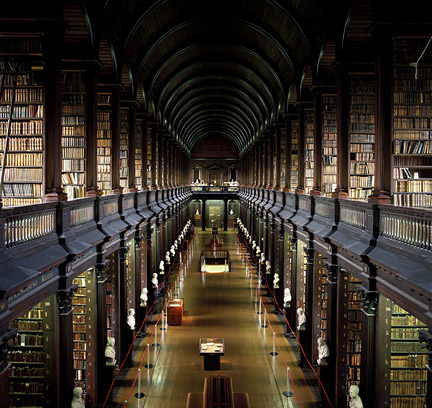 Trinity College Dublin-The Long Room-Old Library