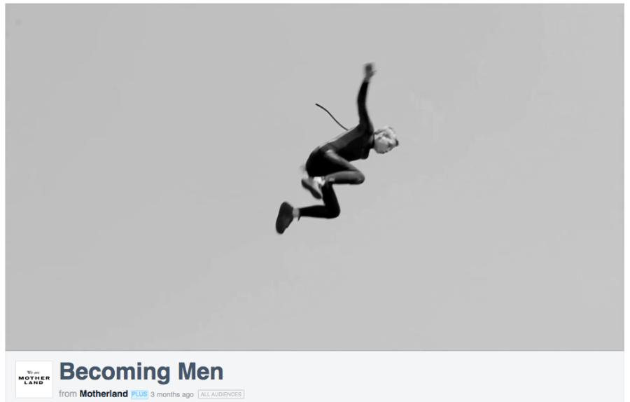 Becoming Men, still 3, courtesy Motherland films