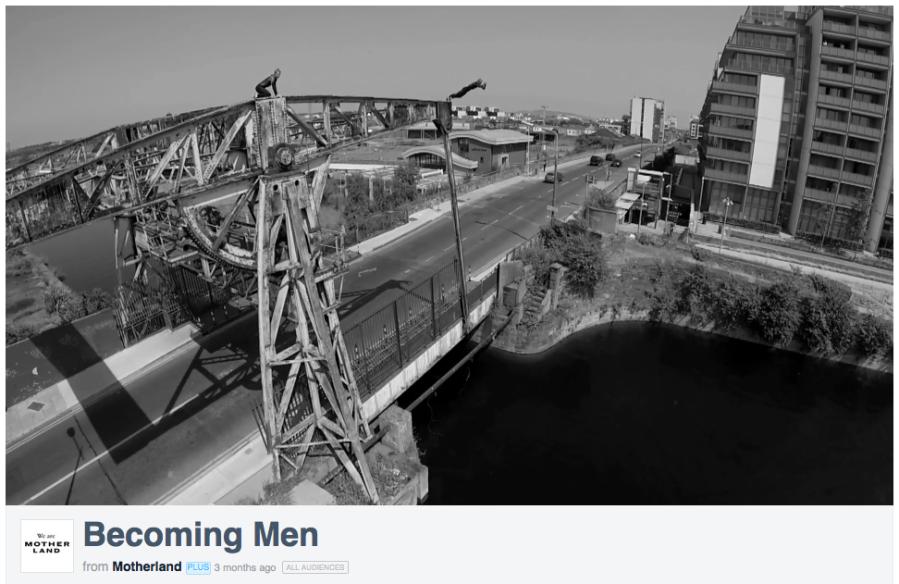 Becoming Men, still, courtesy Motherland films