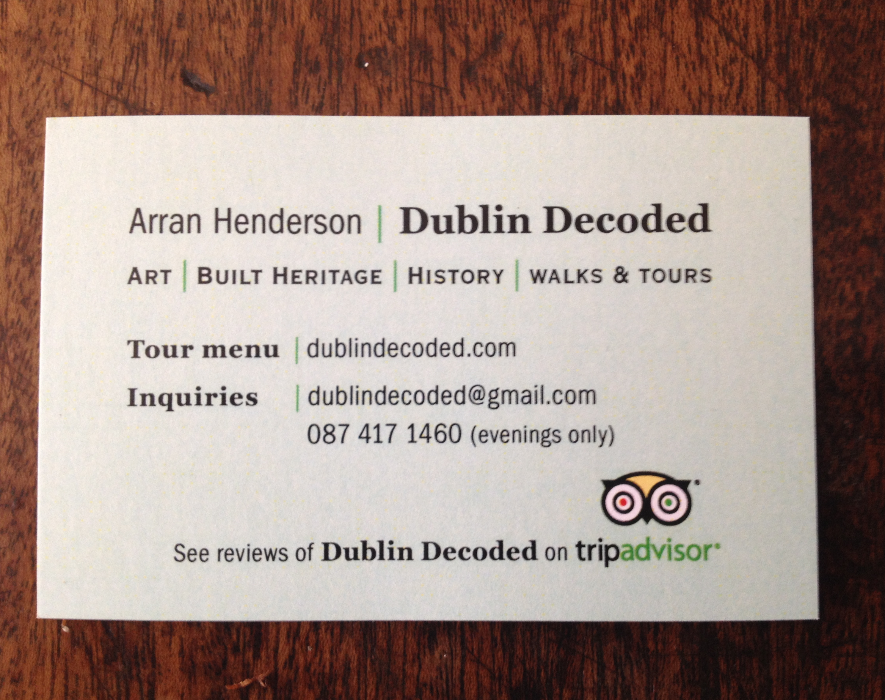 Business Cards Ireland Dublin Image collections - Card Design And ...