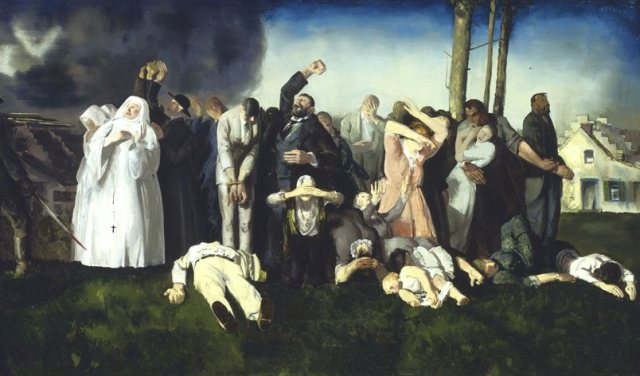 massacre-at-dinant-by-george-bellows-1918