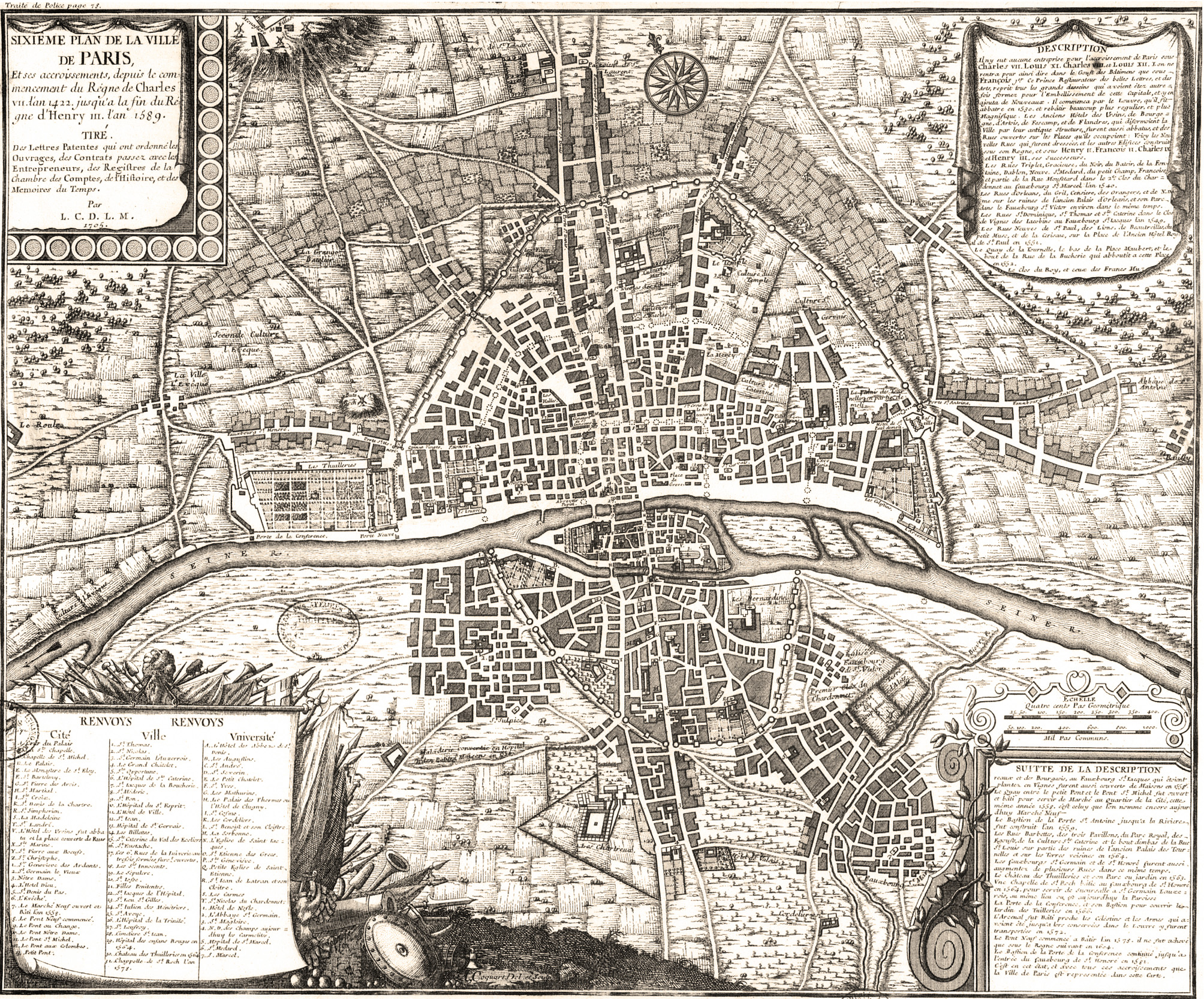Cartography Image Iconography From The City Of Lights Paris By - Artistic map of paris