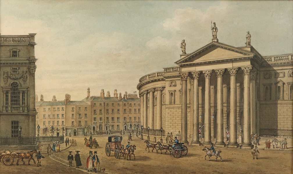 Samuel Brocus View of College Green