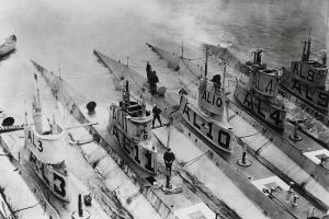first-world-war-submarines
