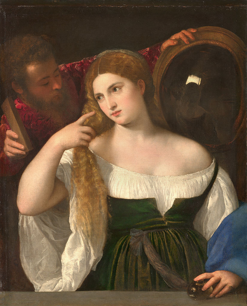 825px-Portrait_d'une_Femme_à_sa_Toilette,_by_Titian,_from_C2RMF_retouched