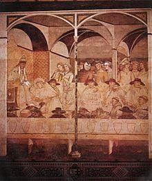 Ambrogio Lorenzetti The Oath_of_St_Louis_of_Toulouse_-_WGA13468