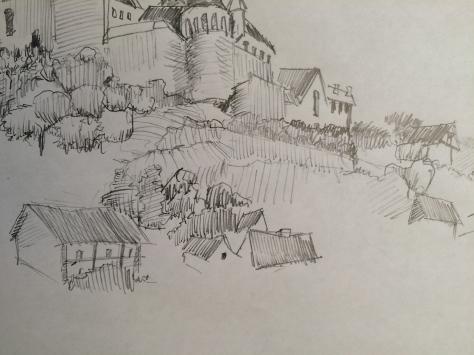 Arran Castle at Bentheim 1 Detail