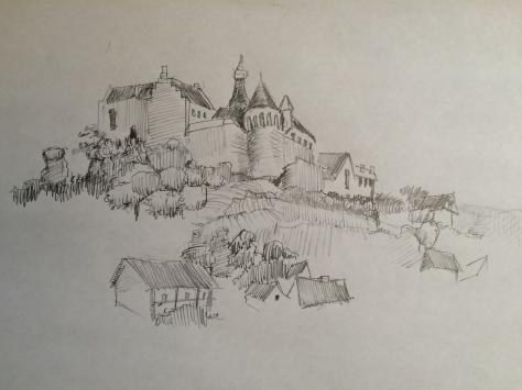 Arran Castle at Bentheim