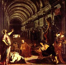 Finding of Body St Mark-Jacopo Tintoretto