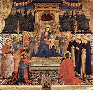 Fra Angelico San Marco Altarpiece