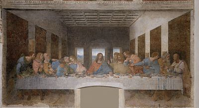 Last Supper Leo da Vinci_5