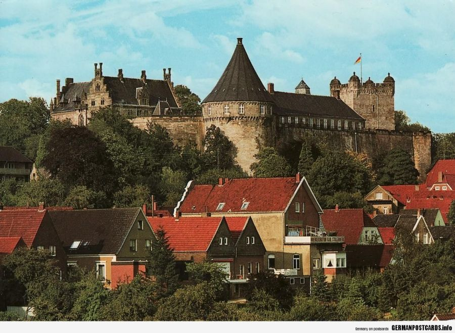 Lower-Saxony.-Bad-Bentheim.-Bentheim-Castle-p2