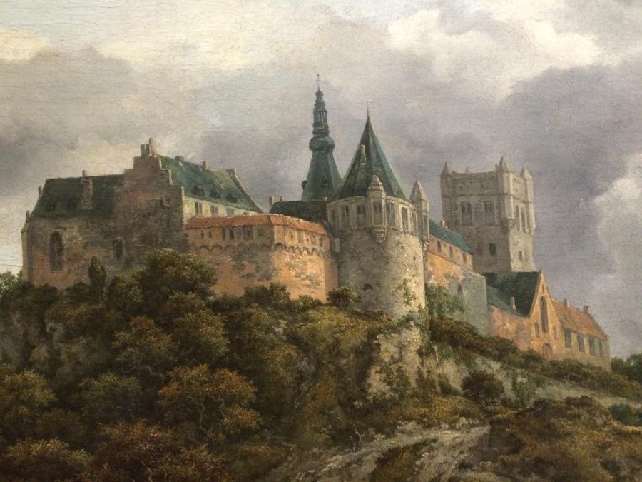 van Ruisdael castle dt