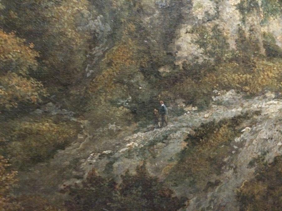 van Ruisdael Figs 3 detail