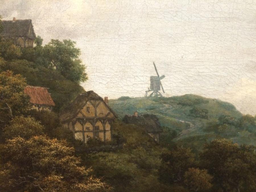 van Ruisdael Windmill dt1