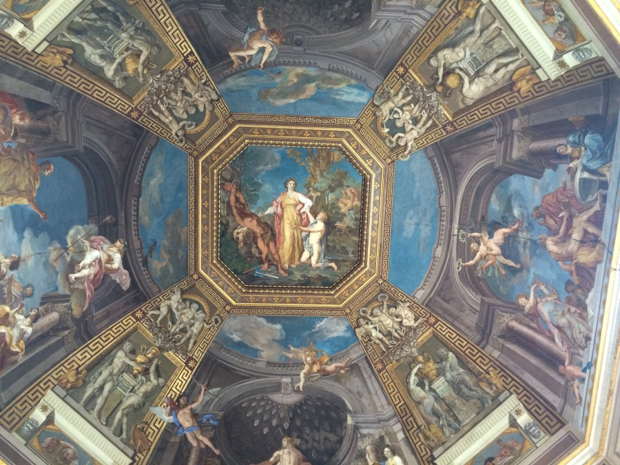 Ceiling Vatican Rome
