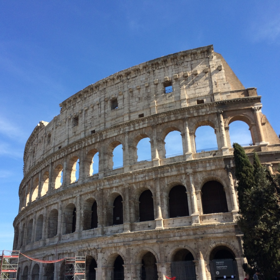 Colliseum 2 Ext Rome, by Arran Henderson