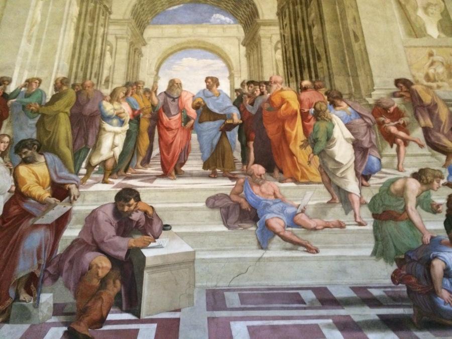School of Athens Raphael, Rome vatican