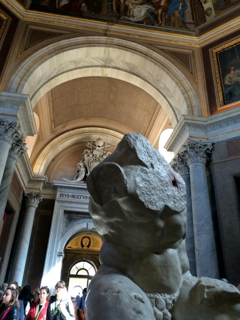 Torso Belvedere 3 Vatican Rome