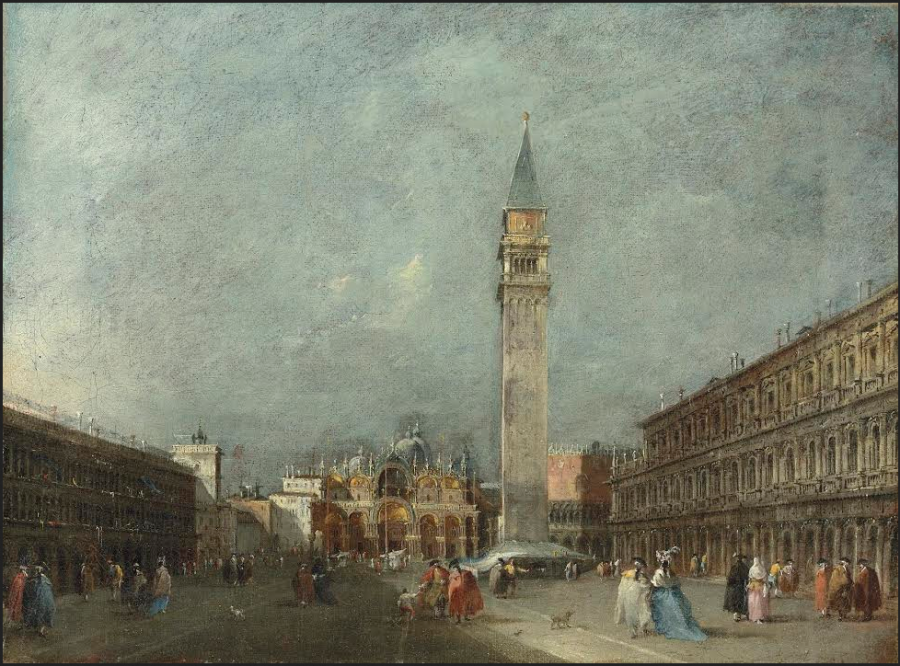 Francesco Guardi View of San Marco