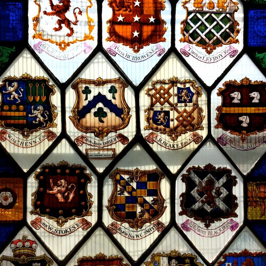 Kings Inns INT Window