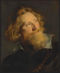 Sir Peter Paul Rubens – Portrait of a Bearded Man