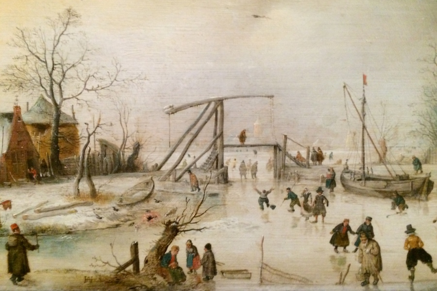 Hendrick Avercamp Scene on Ice