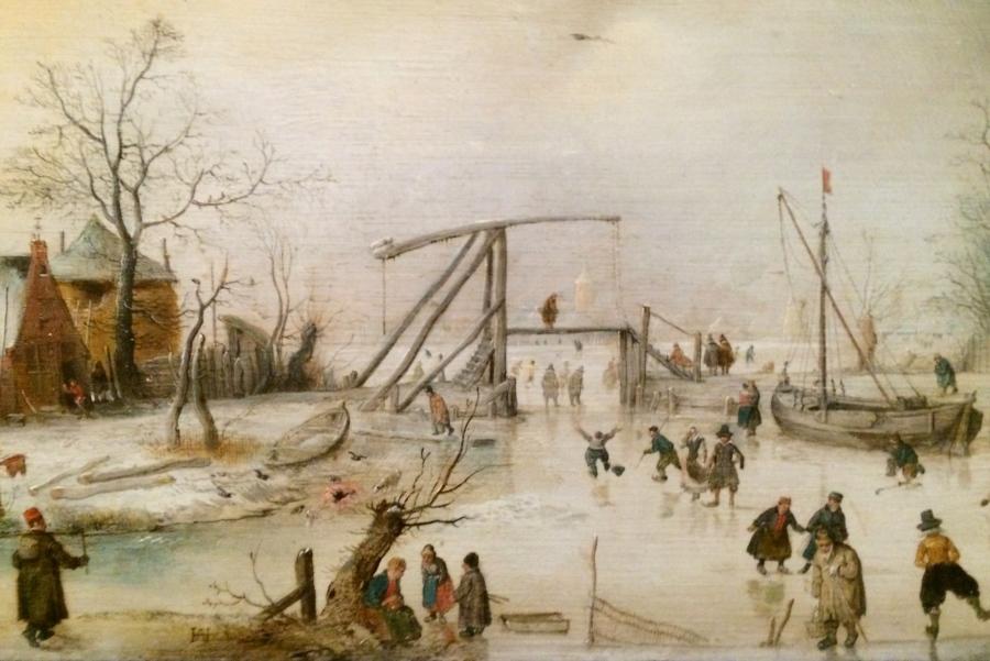 Hendrick Avercamp Scene on Ice