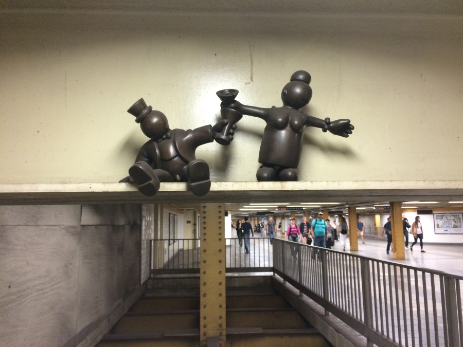 4th Street 9 station sculptures  Art of New York