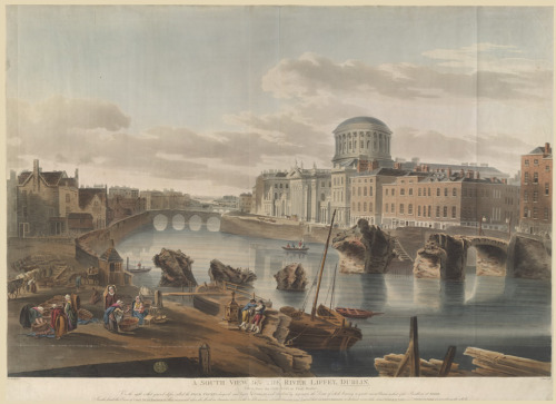 Four Courts & Grattan Bridge Destroyed1_n