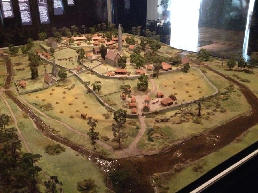 Glendalough Diorama