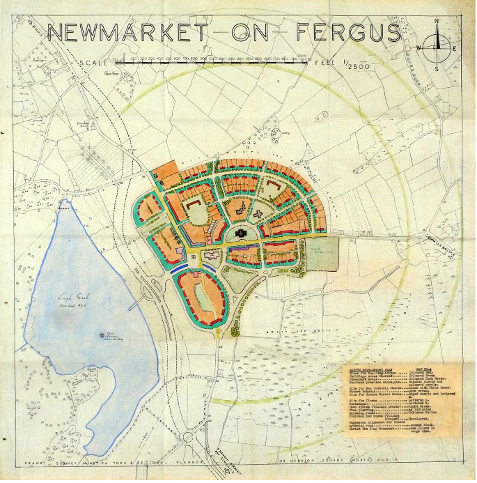 NEWMarket on Fergus Sktech Plan by FRank Gibney