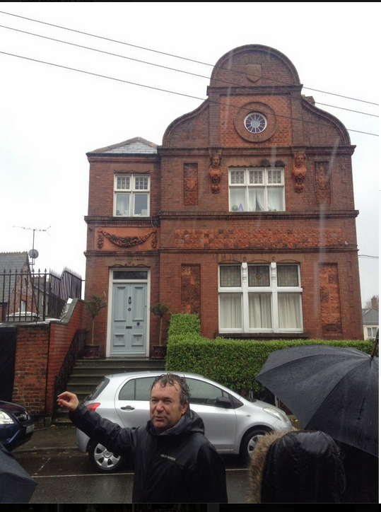 Rathmines in the wet Dublin Decoded tour 2