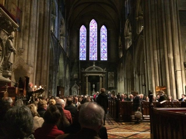 St Patricks Dublin Christmas carols 1