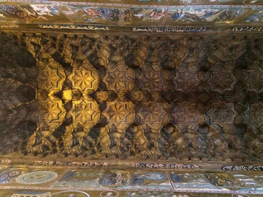 2 Arab ceiling 2 Cappella Palatina Palermo Pic by Arran Q Henderson & Dublin Decoded.JPG
