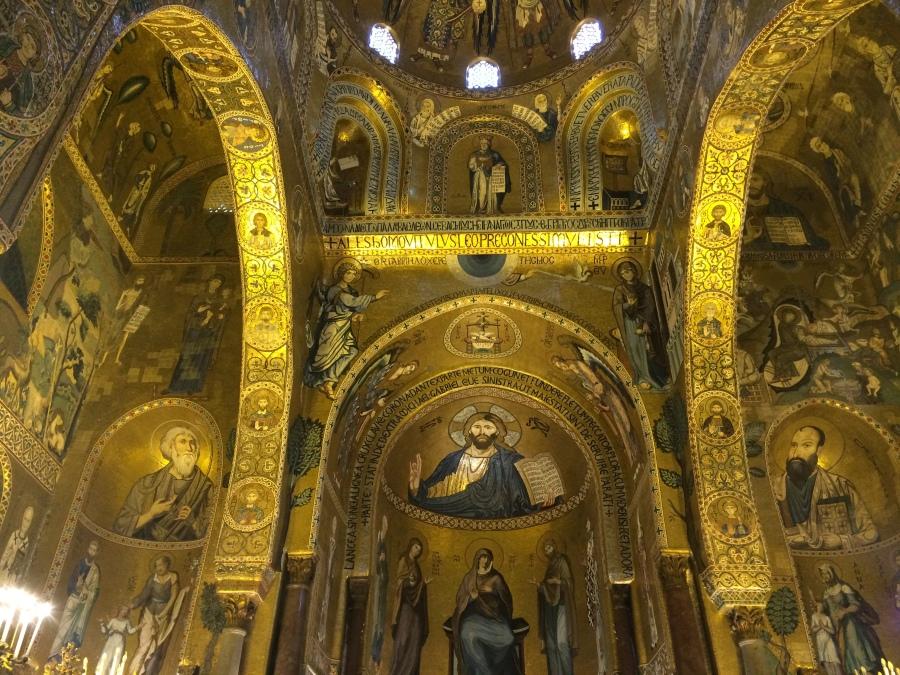 Mosaics Cappella Palatina Palermo Pic by Arran Q Henderson & Dublin Decoded