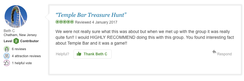 TBTH REVIEW from a Beth