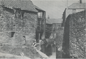 'The Old Mill Race between Sweeney_s Lane and Blackpitts. Taken in the early 20th Century_, Elgy Gillespie (ed.), The Liberties of Dublin (Dublin, 1977) p. 30.