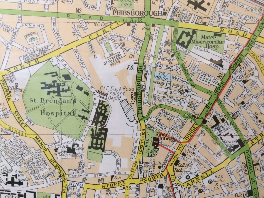 Grangegorman OS MAP 1