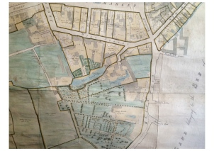 Armstrong map courtesy earl of Meath and Clair Walsh archaeologist.