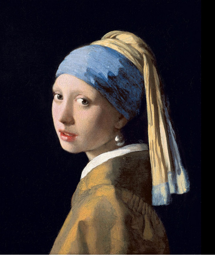 Girl with a Pearl Earing Johannes Vermeer 1665 Wike Commons