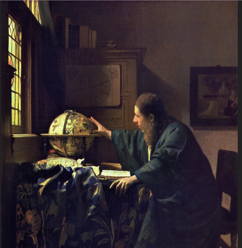 The Astonomer Johannes Vermeer 1669