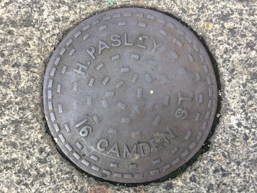 H Paseley CH Camden St Iron Cover