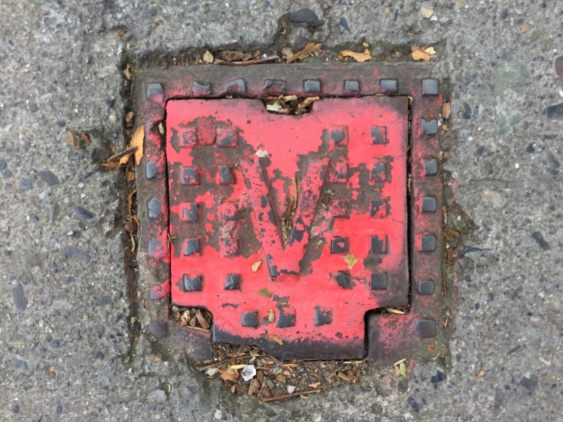 Iron Red CH painted Iron Cover 8
