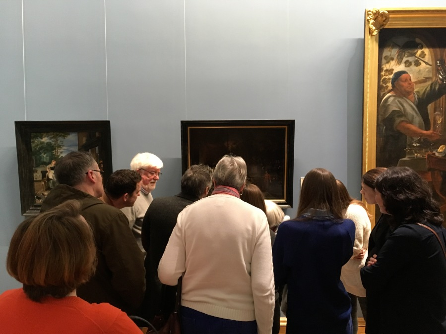 Great Art Tour Group Shot Arran with guests at the NGI National Gallery of ireland on a Dublin Decoded tour